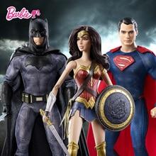 Original Barbie Superman Series Batman War 's Batman DGY04 Superman DGY05 Wonderful Woman DGY06 Best Choose For Gift absolute superman batman volume 1