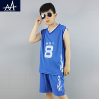 Summer Children Clothes Set Sports Suit For Boys Vest And Shorts Kids Casual Sets Outfit Running