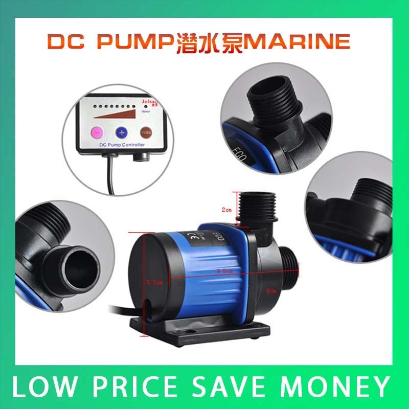 ФОТО Small Cylinder Mini Submersible Water Pump Marine Aquarium Pump DC Power 24V HomeUse DC-2000