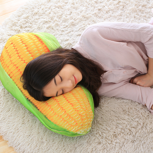 Simulation Corn Plush Pillow