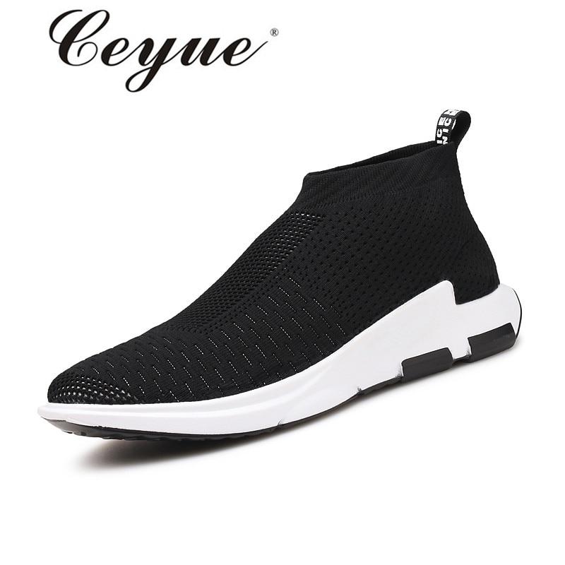 Prix pour Ceyue Hommes Planche À Roulettes Chaussures Respirant Glissement Sur Sneakers En Plein Air Rouge Sport Chaussures Zapatillas Hombre Appartements Superstar Skate Chaussures