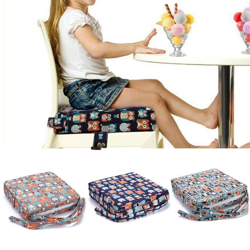 Baby Kids Chair Booster Cushion Dining Chair Child Increase Height Seat Pad Mat High Chair Cushions