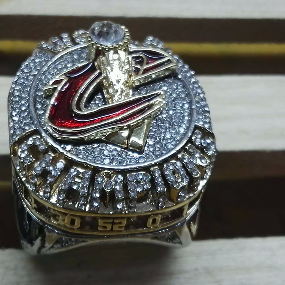 Wholesale Newest Design For James 2016 Cleveland Cavaliers Basketball  Custom Sports Replica World Championship Rings(