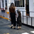 Семья Наряд Комплект Одежды Девочки Повседневная Одежда Набор Майка + широкие Брюки Ноги энн киз elbise Мать Дочь Костюмы папа мама