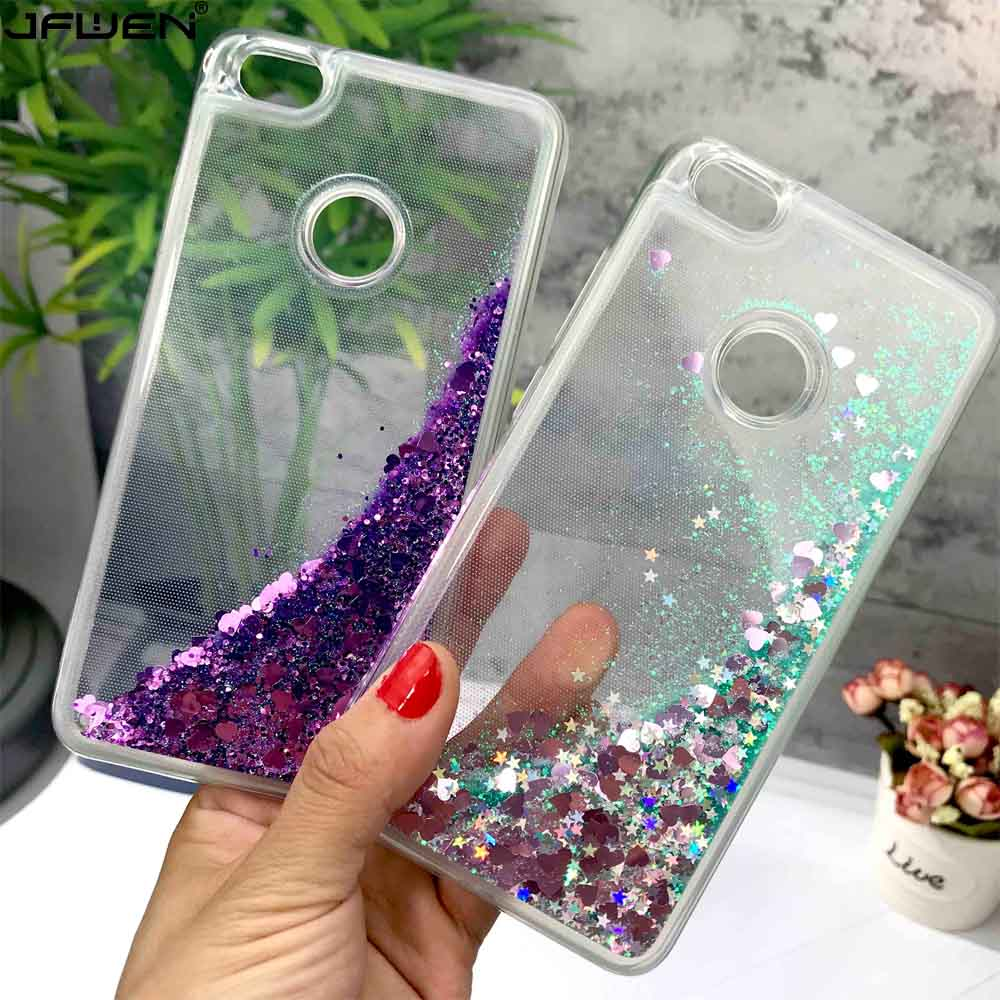 JFWEN For Xiaomi Redmi Note 5A Pro Case Silicone Soft TPU Clear Liquid Phone Cases For Xiaomi Redmi Note 5A Pro Prime Case Cover