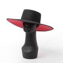01811 HH8153 winter warm % wełna podwójna dwukolorowa okładka magazynka desige leisure czapka fedoras mężczyźni kobiety ciepła czapka