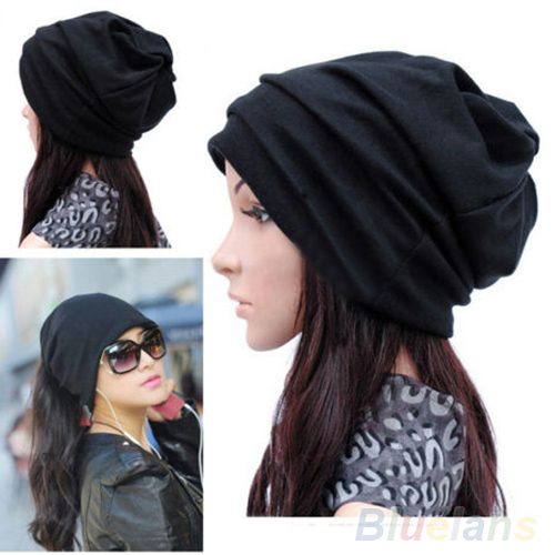 Hot Women Men Scarf  Fashion Slouch Winter Knit Scarf Hip-Hop Cap Beanie Hat Crochet 1T92 7EN4 burnside men s gypsy knit t shirt