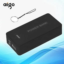 6000mah Portable Power Bank Case External Mobile Backup Powerbank Battery USB Universal Charger adapter Suitable For Smart Phone