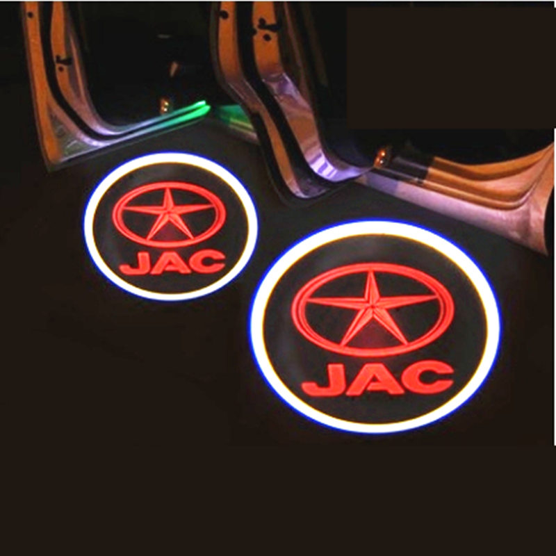 Car dedicated welcome lights, door lights modification for JAC T5, JAC S3, 2 piece/lot
