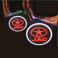 Luzes de boas vindas dedicadas do carro  modificação das luzes da porta para jac t5  jac s3  2 peças/lote|Pistões  anéis  hastes e peças| |  -