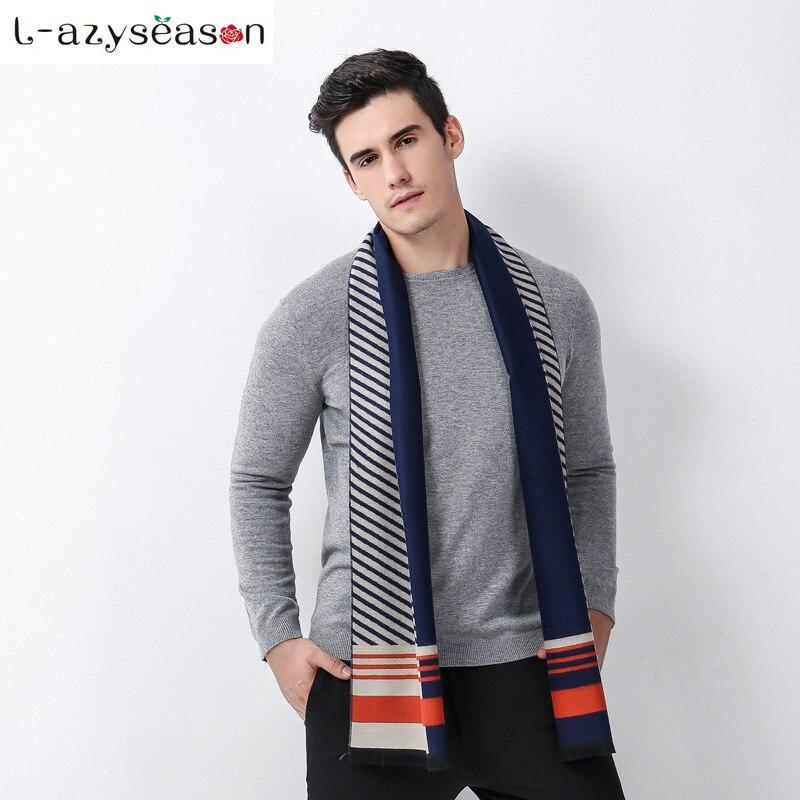 2018 Autumn Fashion Designer Wrap Men Business Scarf Winter warm hijab Men Shawls Scarves