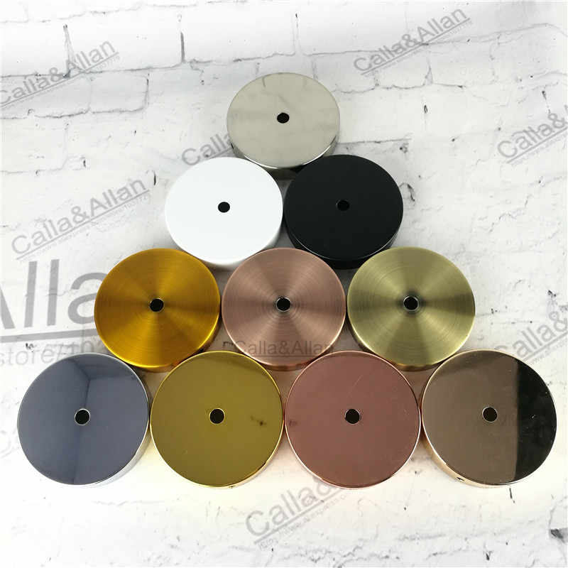 2/10PCS/LOT Ceiling plate, ceiling mount,hook pendant lamp decoration, metal ceiling plate,lamp accessories canopy