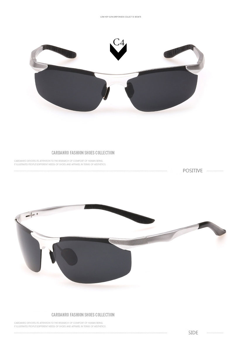 Roupai 2018 polarizadas Gafas de sol hombres original diseño de marca de  aluminio magnesio Sol Gafas alta calidad semi rimless gozlukUSD 12.99 piece  ... 772ba84312