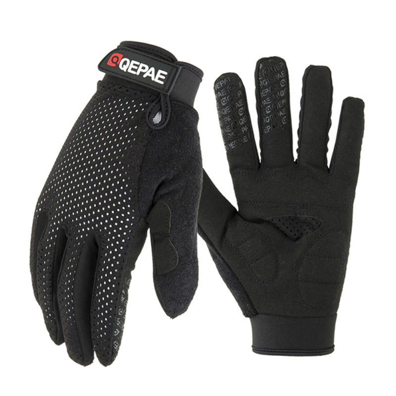 Qepae Full Finger Motorcycle Winter Gloves Screen Touch Guantes Moto Racing Skiing Climbing Cycling Riding Sport Gloves in Gloves from Automobiles Motorcycles