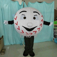 Factory Direct Sale Baseball Sport Team Cheerleading School Mascot Costume Adult Size Fancy Dress Carnival Costume Can Add Logo
