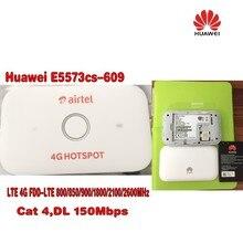 100pcs Unlocked Huawei E5573 E5573Cs-609 LTE FDD 150Mbps 4G Pocket WiFi Router Modem Dongle