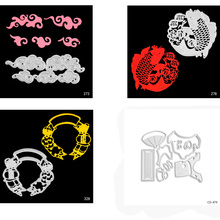 Chinese New Year Shape Die Cuts Metal Cutting Dies for Card Making DIY Scrapbooking Photo Album Decoretive Embossing Stencial