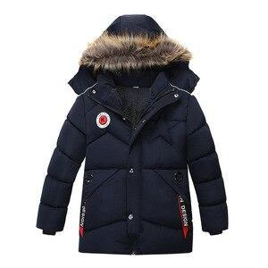 Image 1 - ฤดูหนาว Warm หนาขนสัตว์คอยาวเด็กเสื้อเด็ก Outerwear Windproof ขนแกะเด็กแจ็คเก็ตสำหรับ 100 120 ซม.