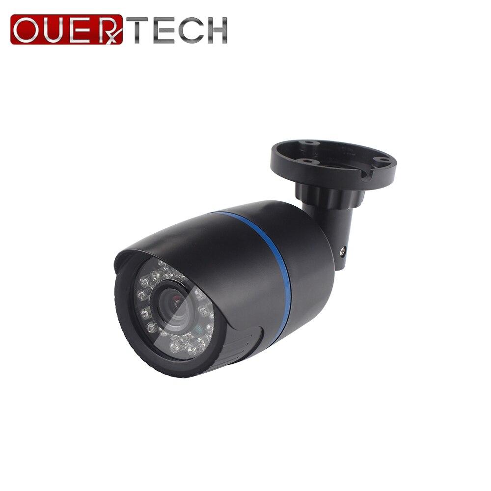 OUERTECH 5 megapixels 5 in 1 switcher cable control XVI/TVI/CVI/CVBS/AHD  AHD Camera CCTV bullet Outdoor Indoor AHD 5MP Camera