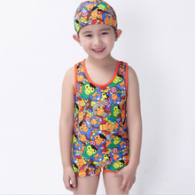 2016 Cartoon Fish Sea Swimsuit Swimwear Wetsuits Sports Entertainment Sportswear One-Piece Suits For Boys Babys Kids