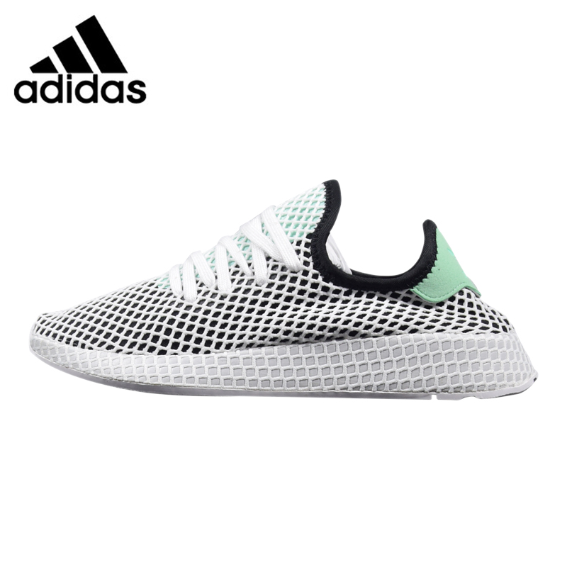 купить Adidas Deerupt Runner Men's and Women's Running Shoes, Grey/Red, Shock-Absorbing Breathable Lightweight B28076 CQ2624 по цене 5860.7 рублей