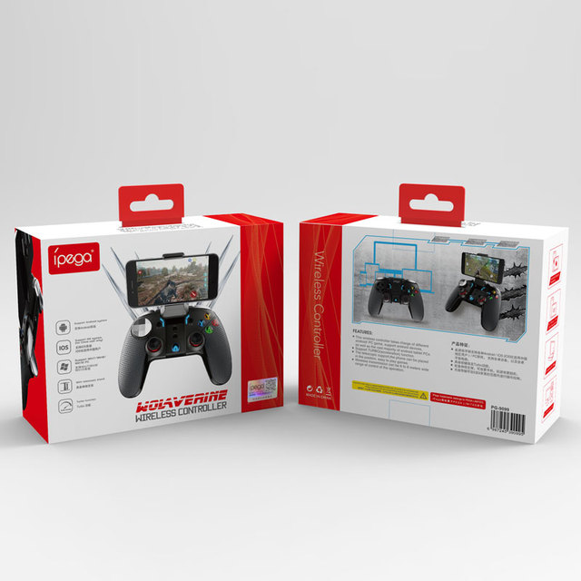 iPega PG 9099 Wireless Gamepad Android Phone for Ps3 Controller Bluetooth Joystick Gaming P3 Dual Motor Vibration Turbo Game Pad 6