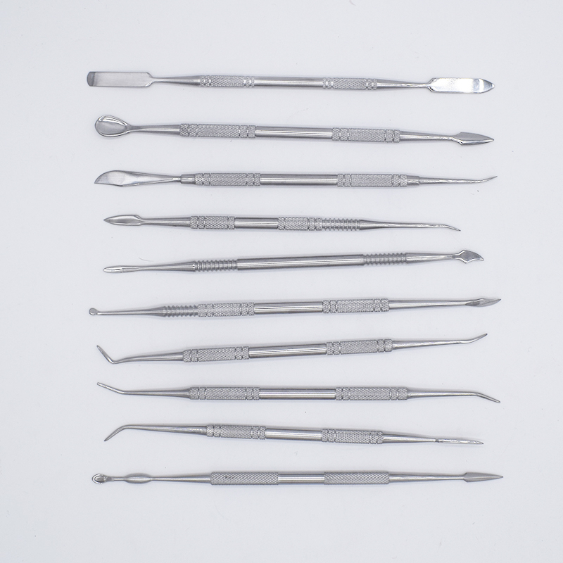 Top Stainless Steel Sculpture Clay Tools Wax Sludge Knife Pottery Ceramic Carving Modeling Polymer Clay Tools Klei Gereedschap