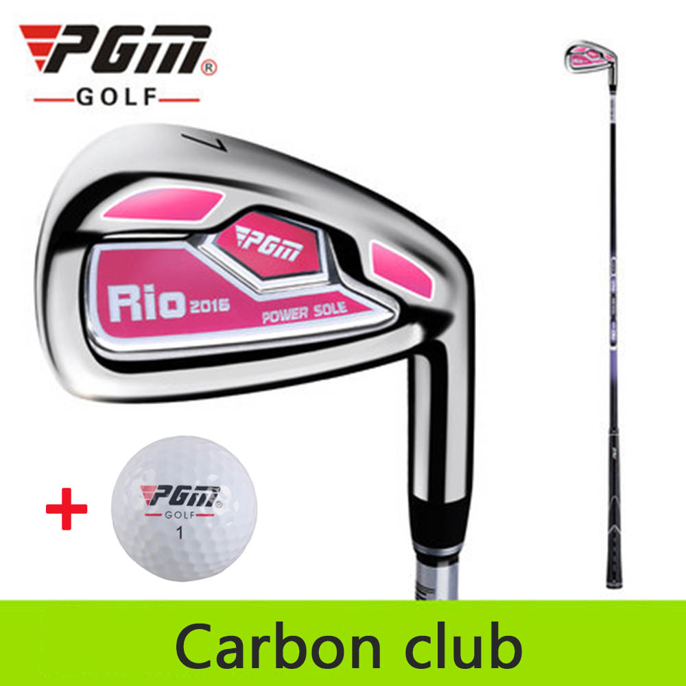 PGM No. 7 irons Women Golf Club Steel/Carbon Head Chipping Clubs Golf Putter Push Rod