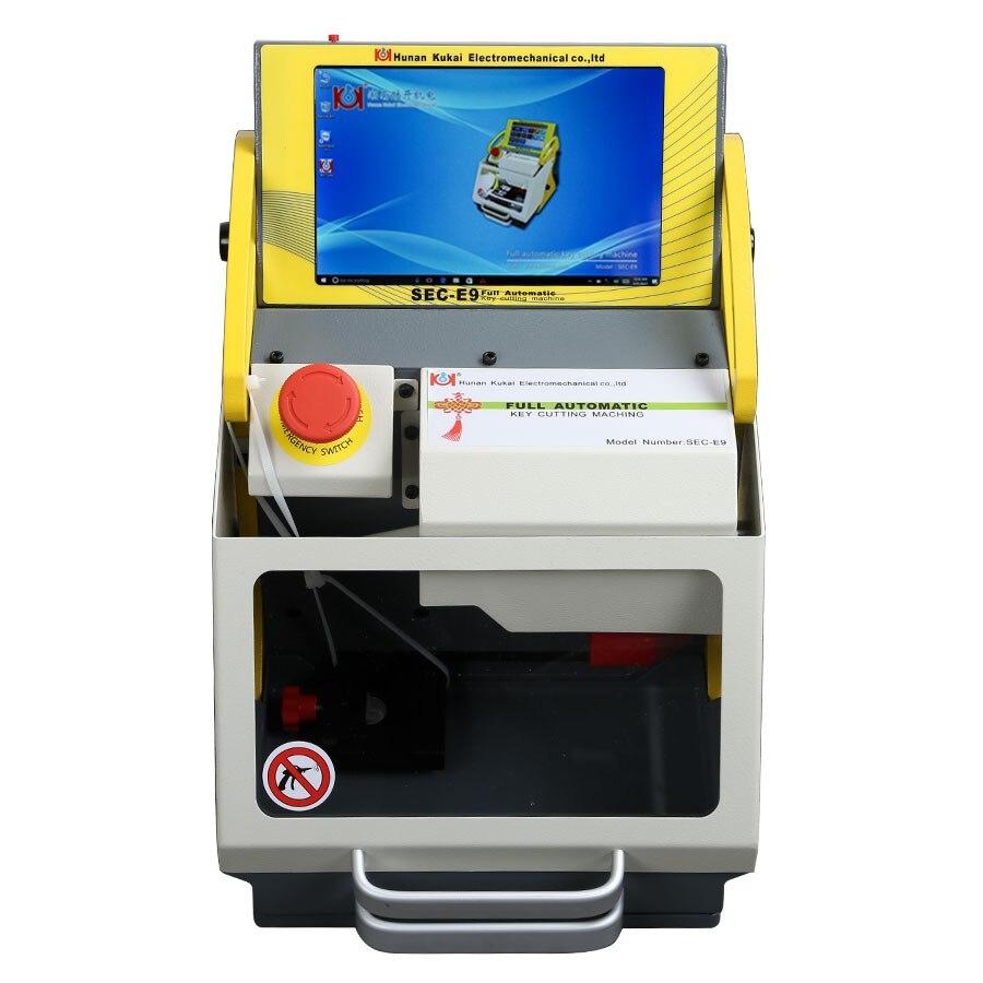Best SEC E9 Smart Duplicate Full Automatic Key Cutting Machine Tablet PC SEC E9 with Mutli languages Version Locksmith Tool