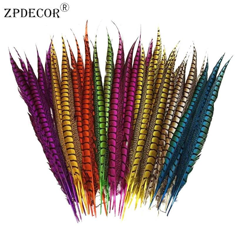50 55 см дюймов 20 22 леди Амхерст хвост перья фазана для свадьбы или фестиваля