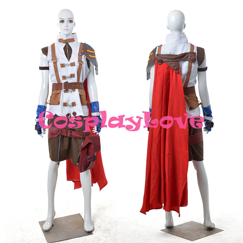 Japanese Game Final Fantasy XIII 13 Lightning Cosplay Costume Outfit Custom Made High Quality Halloween Christmas CosplayLove