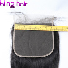 Bling Hair Brazilian Body Wave 7x7 Lace Closure Free/Middle/Three Part