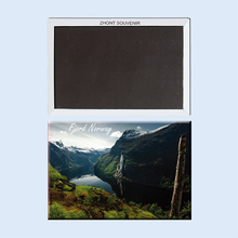The incredible beauty of the Norwegian fjords 22713, Souvenirs of  Tourist Landscape   gifts for friends   Magnetic refrigerator the incredible transformation of gregory todd