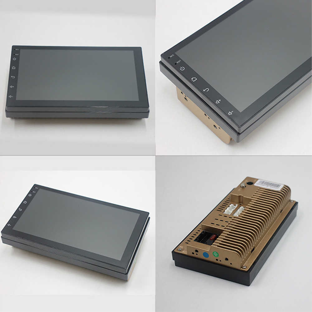 7 дюймов Android Универсальное зарядное устройство 4 ядра радио плеер Bluetooth gps навигации автомобиля Экран Портативный HD MP5