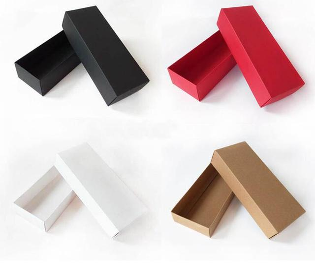 10pcs sock packaging boxes gift box with lid cardboard socks