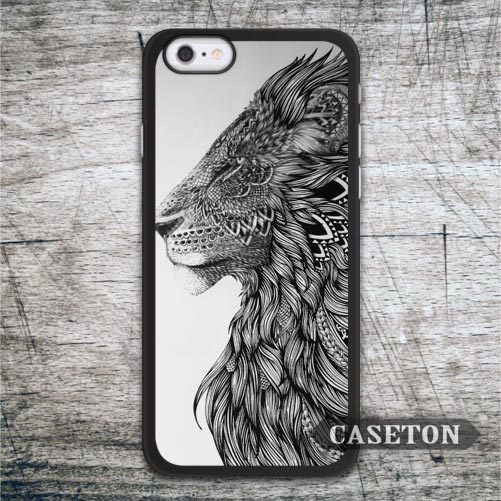 Tribal Lion Totem Case For iPhone 7 6 6s Plus 5 5s SE 5c and For iPod 5 High Quality Classic Animal Phone Cover Drop Shipping