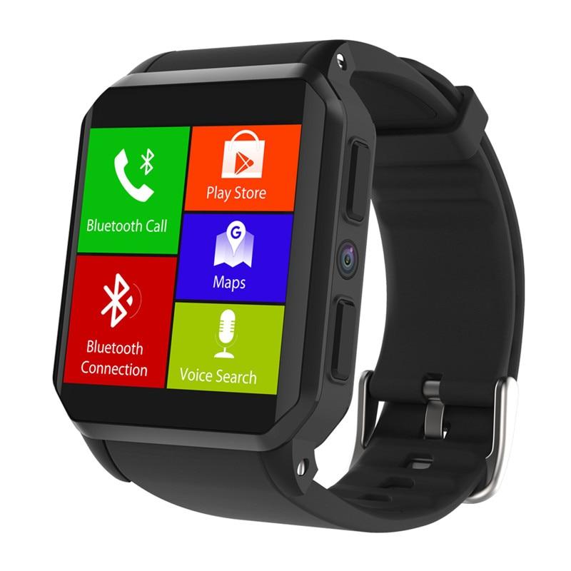 Montre Smart watch 3G GSM + NFC + GPS + WIFI + G-sensor + imperméable + caméra de mode smartwatch pour hommes akilli saatler 2018 meilleure vente des marchandises