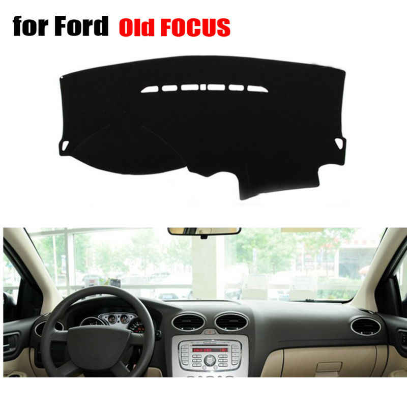 Auto dashboard covers mat voor Ford oude Focus 2004-2010 Left hand drive dashmat pad dash covers Instrument platform accessoires