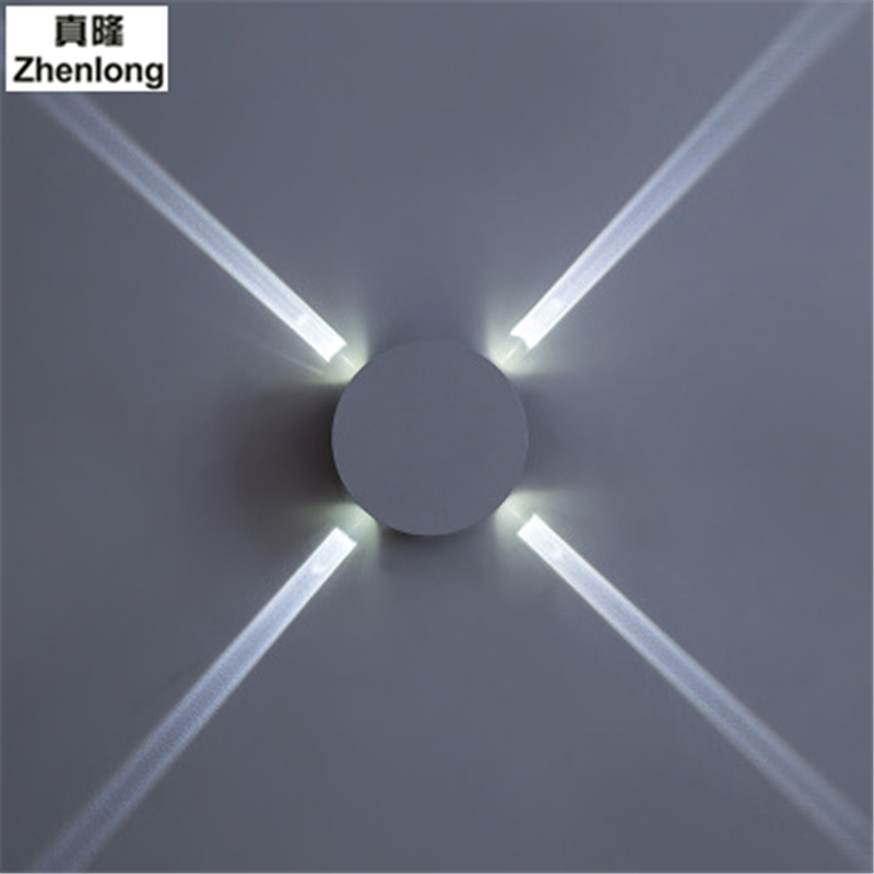 4W 12W AC220V Wall Lamp Bedside Lamp Bedroom Living Room Wall Light Modern Minimalist Aisle Hotel Cross Star Light Wall Luminair modern lamp trophy wall lamp wall lamp bed lighting bedside wall lamp