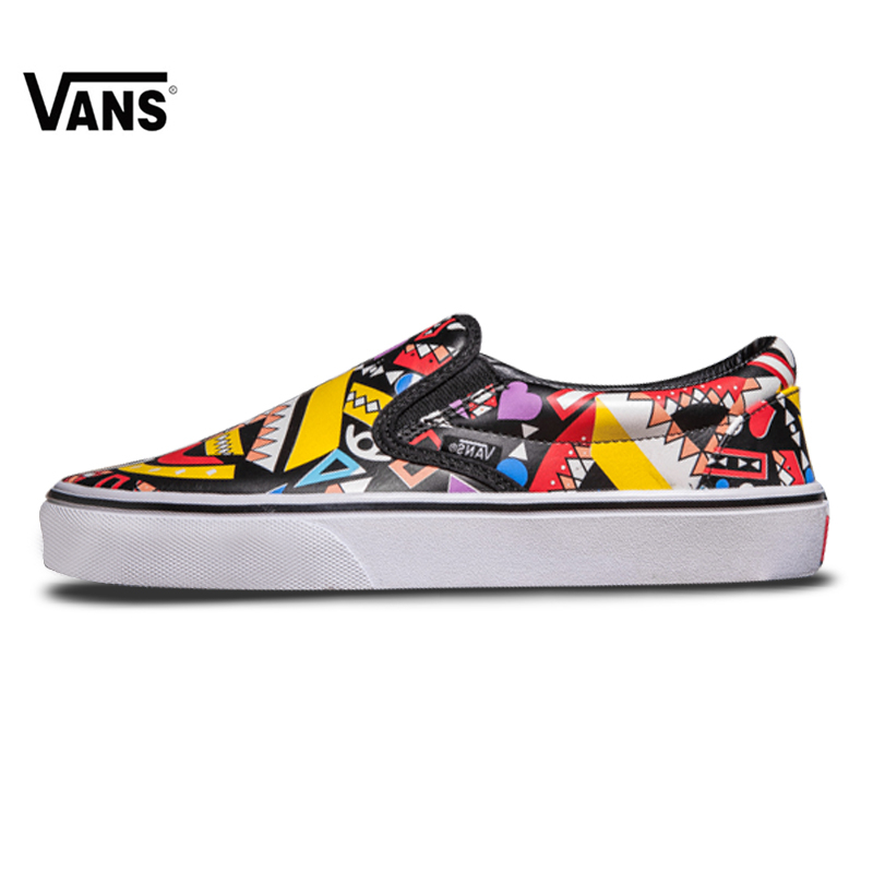 Vans Classics Old Skool Skateboarding Girl s Sneakers Colour Low-Top  Athletic For Women s FS053 35-39 a4304a947755