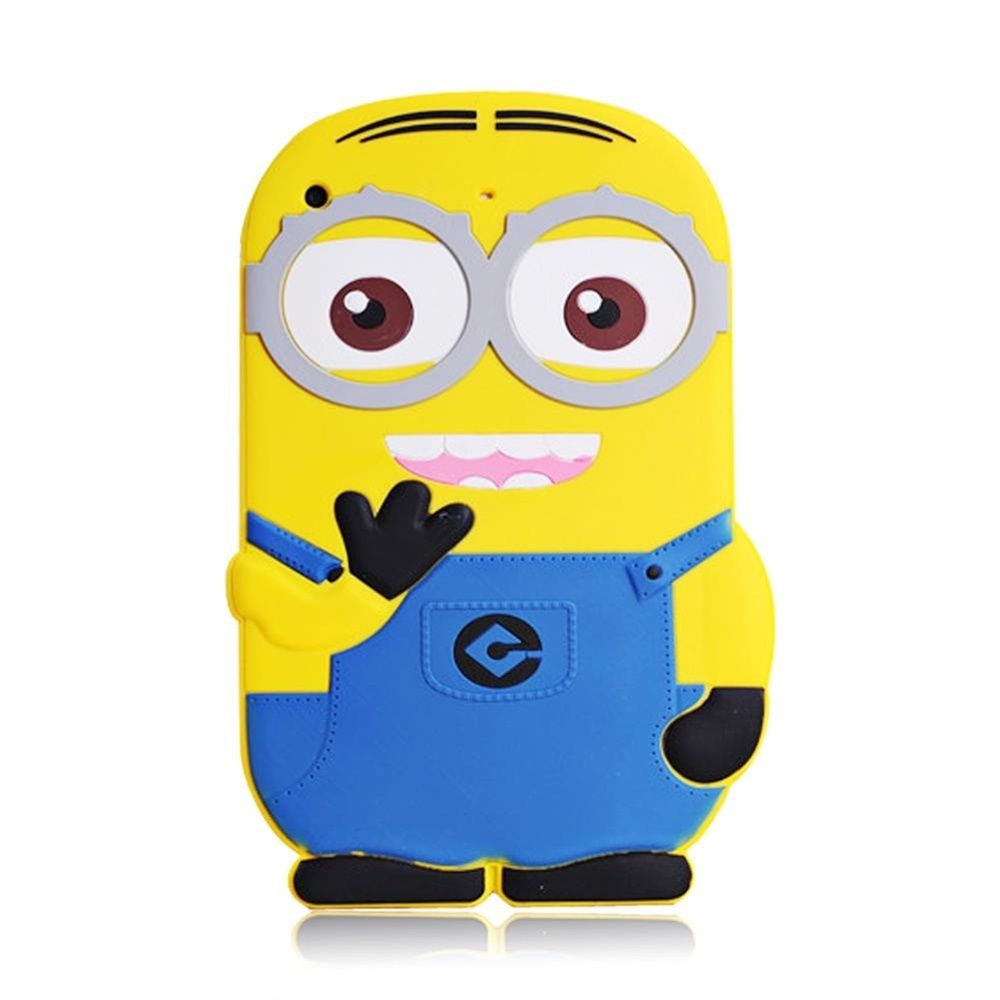 3D Cartoon Handsome Batman Shockproof Soft Rubber Silicone Case Covr For For Ipad Mini/2/3 Retina