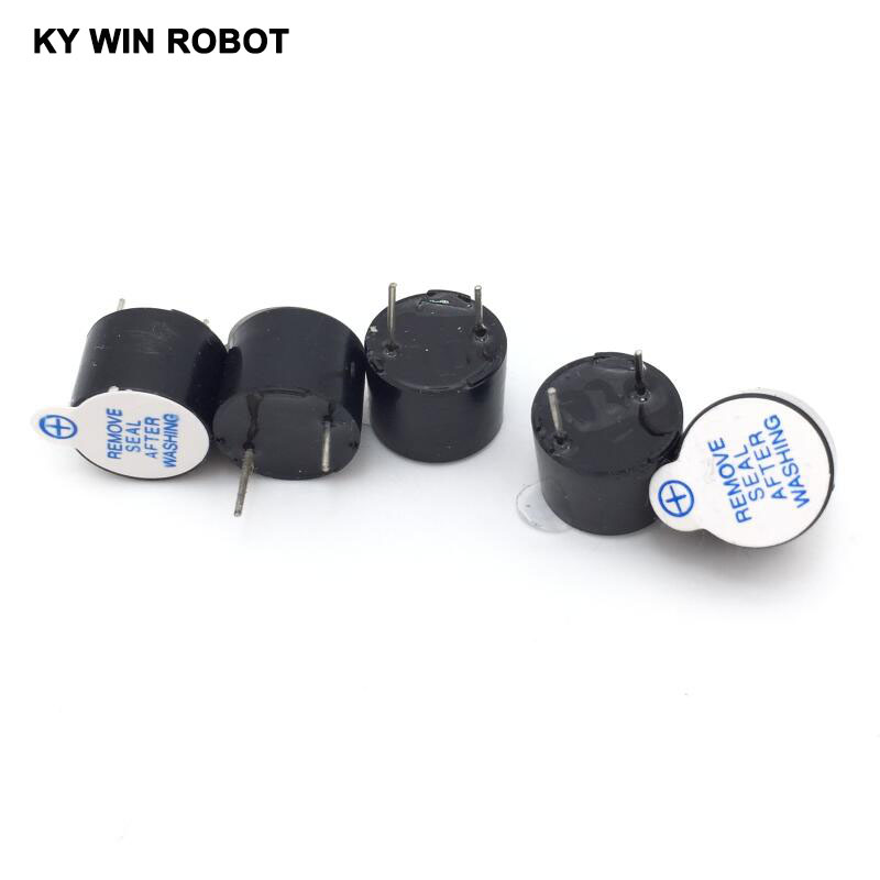 [ Electronic Diy Kit ] 5V Active Buzzer Electromagnetic (SOT Plastic Tube Length Acoustic )(5 Pieces)