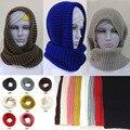 Новый горячий! мода стиль Унисекс Зима Ворота шерстей Грелки Шеи женщина Кольцо Шарф Шаль, хиджабы для женщин мужчин
