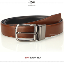 [DWTS] New genuine leather belt men reversible casual jeans