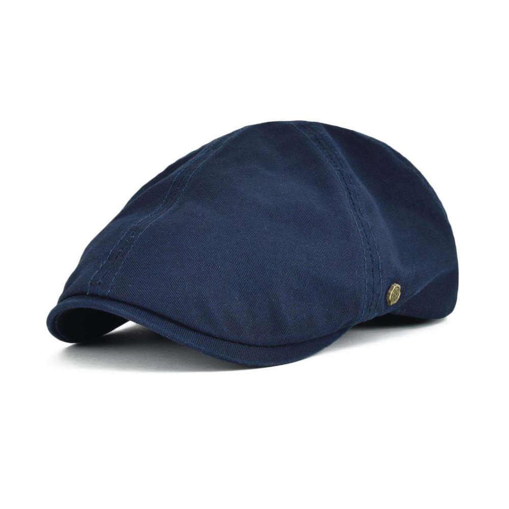a807b7b9ca8 VOBOOM Cotton Newsboy Cap Men Women Ivy Flat Caps Spring Summer Berets  Gatsby Hats Driver Cooker