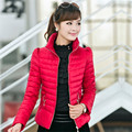 2016 Новый Горячий Женская Мода Зимняя Куртка Женщины Тонкий Офис Дамы Молнии для Elagent Дамы Пальто Jaquetas D047