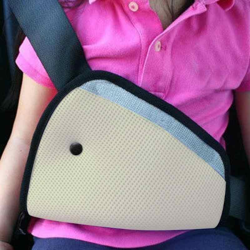 Triângulo Bebê Criança Dispositivo de Ajuste Seguro Ajustador Do Cinto de segurança Do Carro Auto Arnês de Segurança Tampa Da Correia No Pescoço da Criança Proteger Posicionador