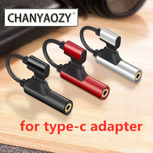 USB type C to 3.5 mm adapter type-c OTG converter 4 in 1 charger and listening and calling and volume audio for Huawei xiaomi катушка индуктивности jantzen c coil 1 4 mm 4 mh 0 08 ohm