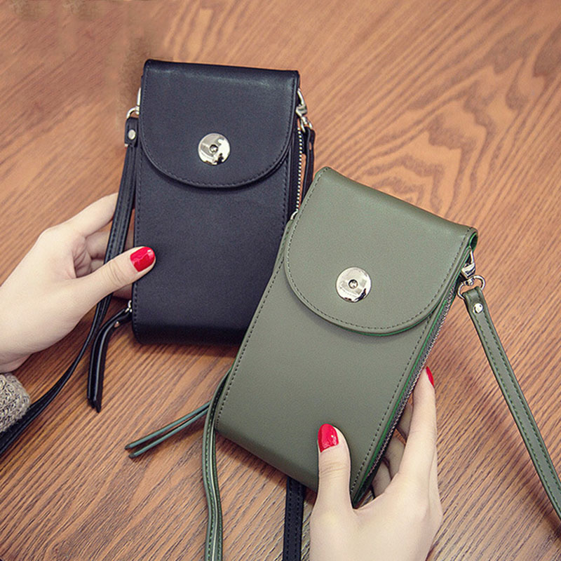 цены New Wallet Women Shoulder Bag Luxury Designer Women Purse Coin Clutch Multifunction Lady Phone Bags High Quality Messenger Bag