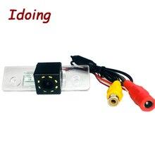 Idoing CCD Автомобильная камера заднего вида для Skoda Octavia 2 Автомобильный мультимедийный DVD аудио видео плеер